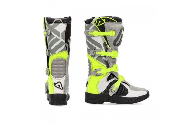 Μπότες ACERBIS 22999.290 X-TEAM Γκρι Κίτρινο