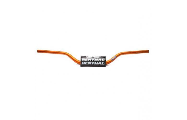 """Τιμόνι RENTHAL Fat Bar """"28,6mm"""" (Πορτοκαλί) """"60401OR"""""""