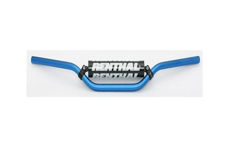 """Τιμόνι RENTHAL ATV """"22,2mm"""" (Μπλέ) με Pad """"63601BU03219"""""""