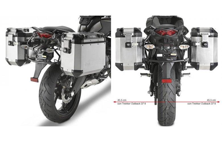 Βάσεις πλαϊνών βαλιτσών OBK PL4103CAM_Versys 650'2010-13 Kawasaki Givi