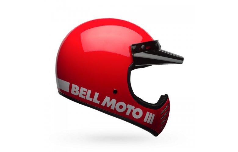 Κράνος Bell Moto 3 κόκκινο