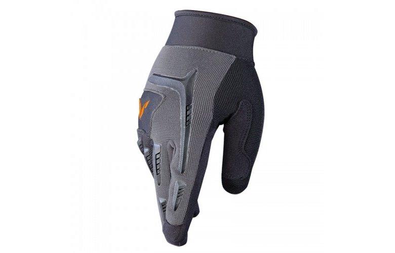 Γάντια Nordcap Downhill γκρί μαύρο