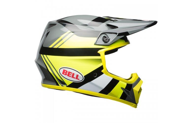 Κράνος Bell MX-9 Mips Marauder Hi Viz κίτρινο-μαύρο