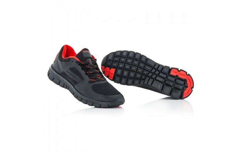 Παπούτσια running Αcerbis Corporate 17806.091 μαύρο 2