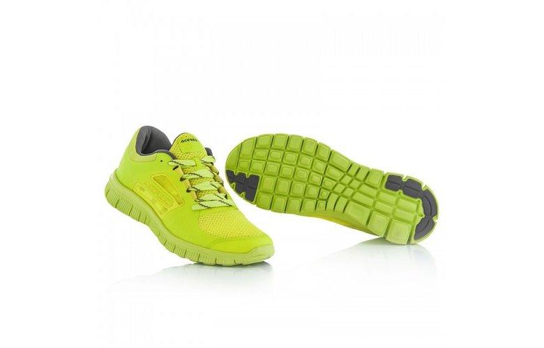 Παπούτσια running Αcerbis Corporate 17806.063 fluo κίτρινο
