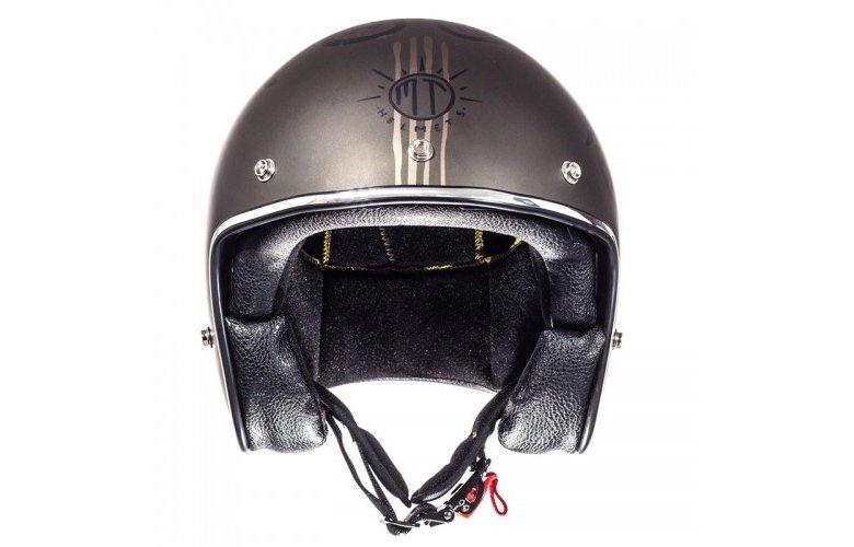 Κράνος MT Le Mans SV Outlander ματ καφέ-μαύρο