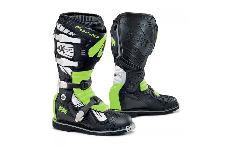 Μπότες Forma Terrain TX μαύρο-άσπρο-fluo