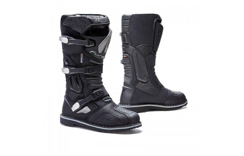 Μπότες Forma Terra Evo δέρμα μαύρες