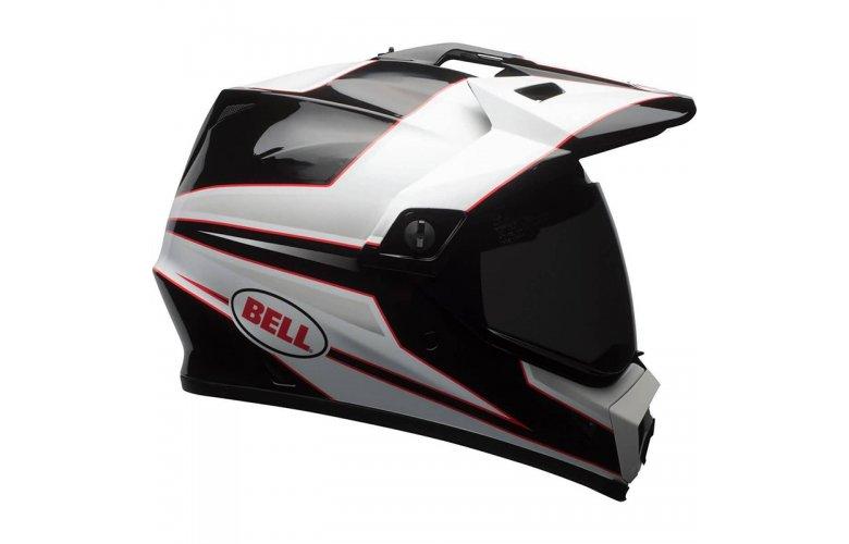 Κράνος Bell MX-9 Adventure Mips Stryker άσπρο-μαύρο