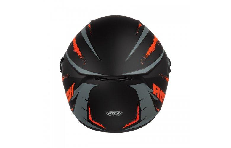 Κράνος Airoh ST 301 Logo πορτοκαλί ματ