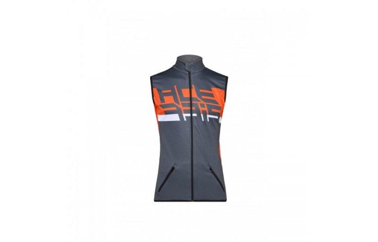 Γιλέκο Acerbis X-Wind softshell γκρι-πορτοκαλί
