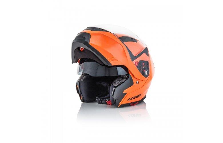 Κράνος Acerbis BOX G-348 πορτοκαλί fluo