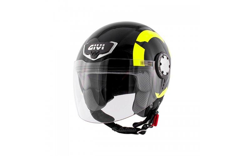 Κράνος Givi H10.4F Stark glossey Black Yellow fluo