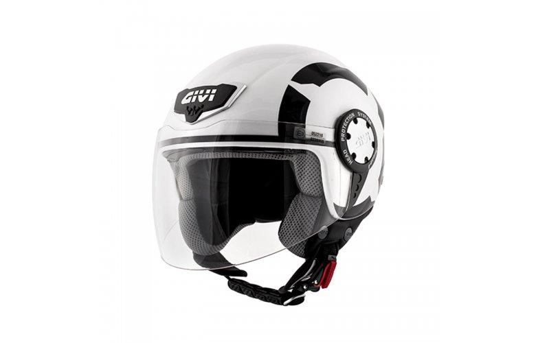 Κράνος Givi H10.4F Stark glossey White-Black