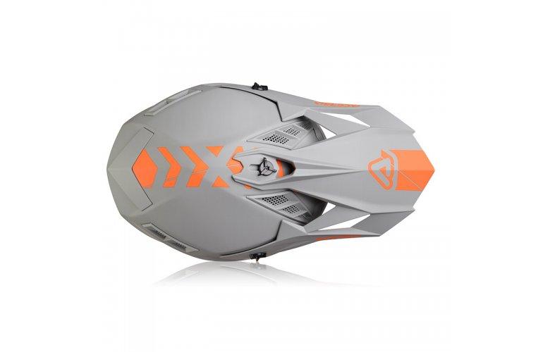 Κράνος Acerbis X-Track VTR γκρι/πορτοκαλί