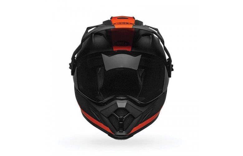 Κράνος Bell MX-9 Adventure Mips Switchback matt μαύρο/πορτοκαλί