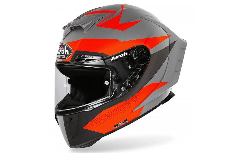 Κράνος Airoh GP 550 S Vektor mat πορτοκαλί