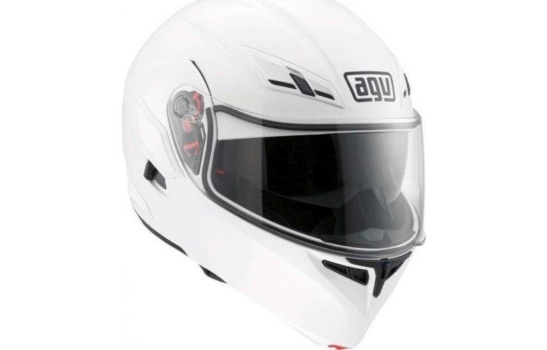 Κράνος AGV COMPACT ST E2205 SOLID PLK WHITE