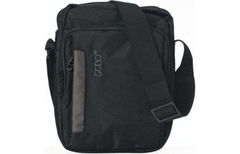 Τσαντάκι ώμου Polo X-Case 9-07-110-02 Large Black