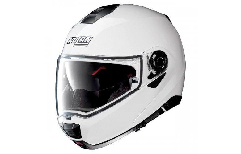 Nolan N100-5 Special N-Com Pure White 15