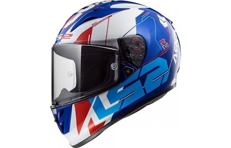Κράνος LS2 Arrow C Evo FF323 Techno Λευκό / Μπλε