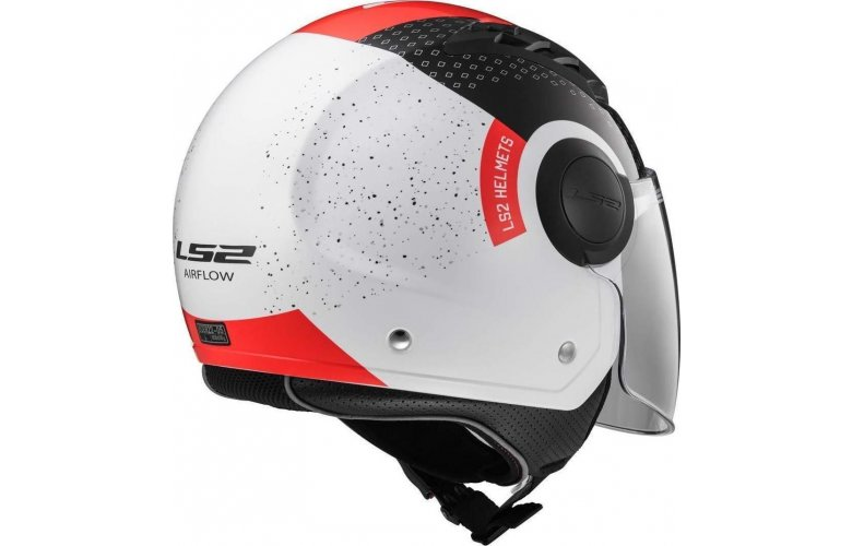 ΚΡΑΝΟΣ LS2 AIRFLOW OF562 CONDOR WHITE / BLACK / RED
