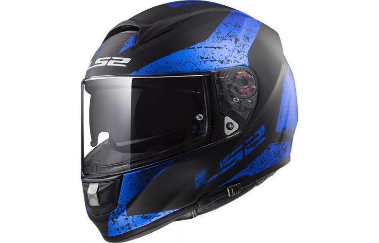 Κράνος LS2 FF397 Vector Sign Μπλε / Μαύρο Ματ | Motovinios