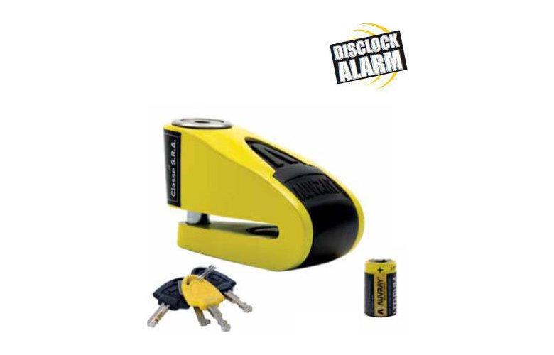 Κλειδαριά δισκόφρενου Auvray  B -Lock -10 Alarm Yellow / Black