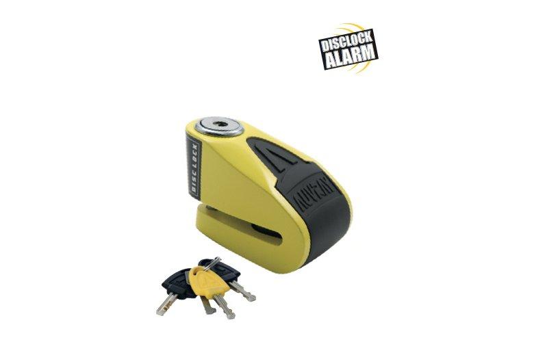 Κλειδαριά δισκόφρενου Auvray B-Lock-06 Alarm Yellow / Black