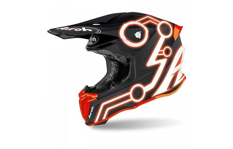 Κράνος Airoh Twist 2.0 Neon Orange ματ