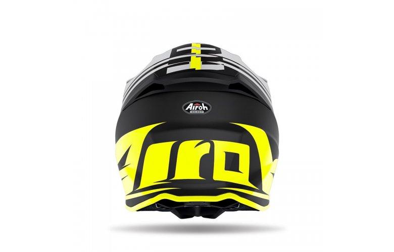 Κράνος Airoh Twist 2.0 Tech κίτρινο gloss