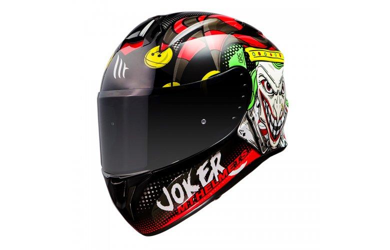 Κράνος MT Targo Joker A1 gloss μαύρο