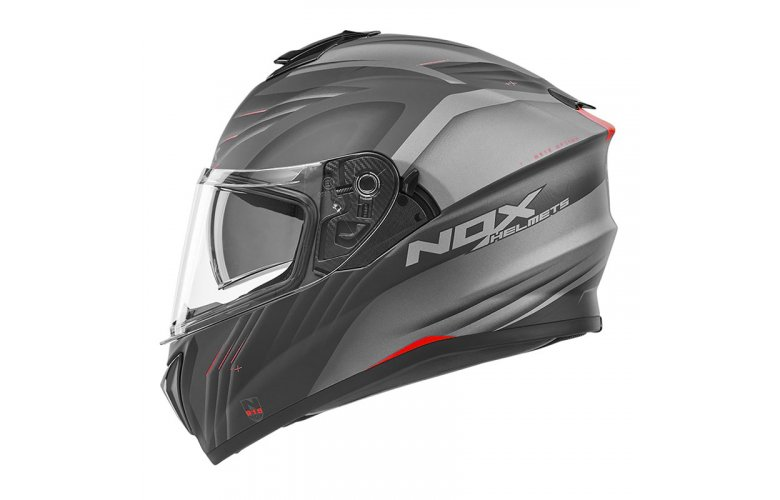 ΚΡΑΝΟΣ NOX N918 Upside μαύρο/κόκκινο