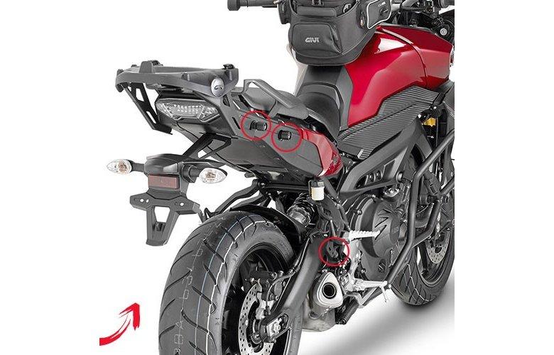 Βάσεις πλαϊνών βαλιτσών PLXR2122 MT-09 TRACER'15 Yamaha GIVI