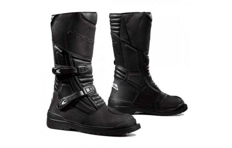 Μπότες Forma Capehorn δέρμα μαύρες