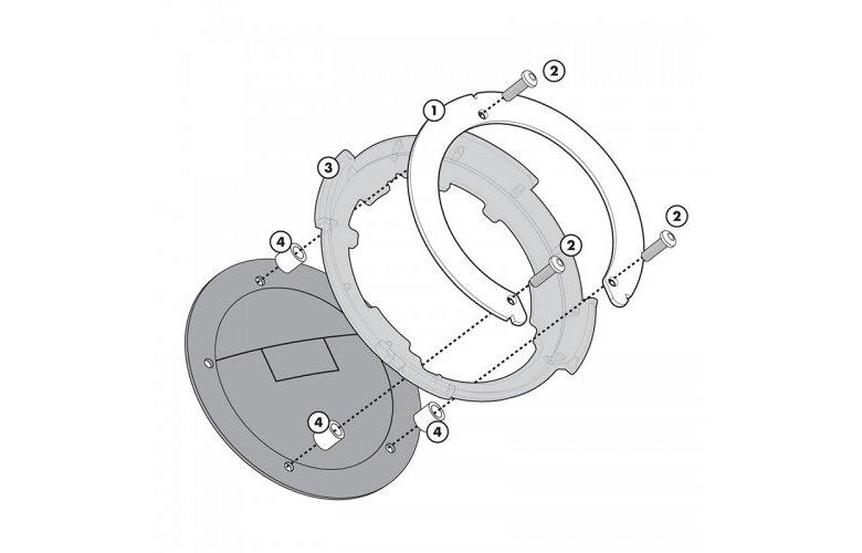 BF01 Σύστημα κλειδώματος σάκου στο ρεζερβουάρ GIVI