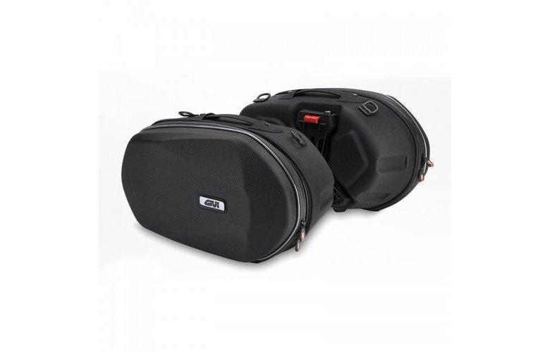 Τσάντες πλαϊνές 3D600 Easy lock 3D 18-23L αδιάβροχες GIVI