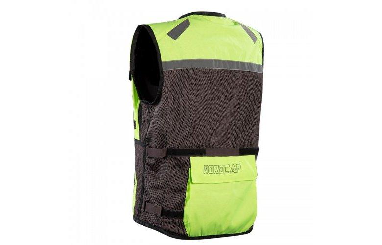 Γιλέκο Nordcap Safety Vest γκρί fluo
