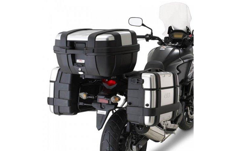 Βάσεις πλαϊνών βαλιτσών PL1121_CB500X Honda Givi