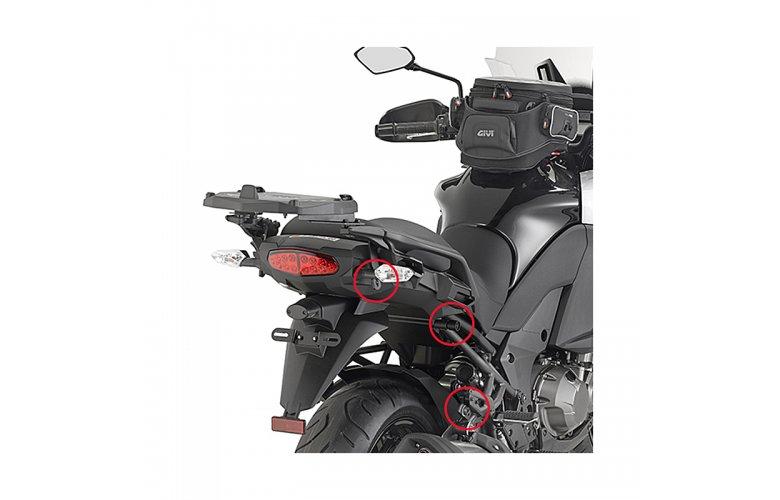 Πλαινές βάσεις PLXR4113_Versys 1000'15 Kawasaki GIVI