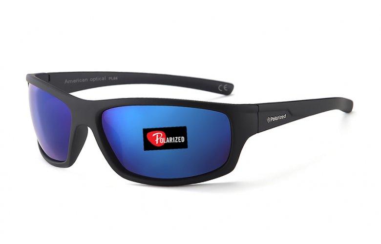 Γυαλιά ηλίου FACTOR POLARIZED AMERICAN OPTICAL PL66 ΚΑΘΡ. ΜΠΛΕ
