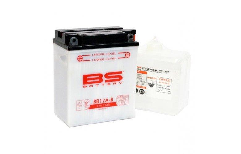 Μπαταρία BS BATTERY ανοικτού τύπου BB12A-B