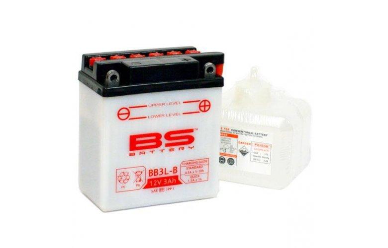 Μπαταρία BS BATTERY ανοικτού τύπου BB3L-B