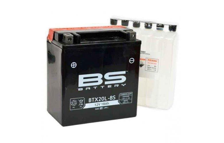 Μπαταρία BS BATTERY κλειστού τύπου BTX20L-BS
