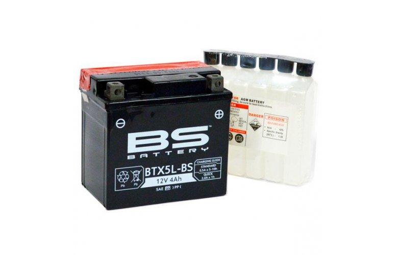 Μπαταρία BS BATTERY κλειστού τύπου BTX5L-BS