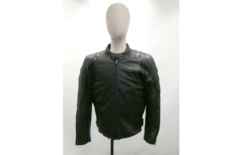 ΜΠΟΥΦΑΝ REV'IT ZODIAC LEATHER JACKET ΜΑΥΡΟ