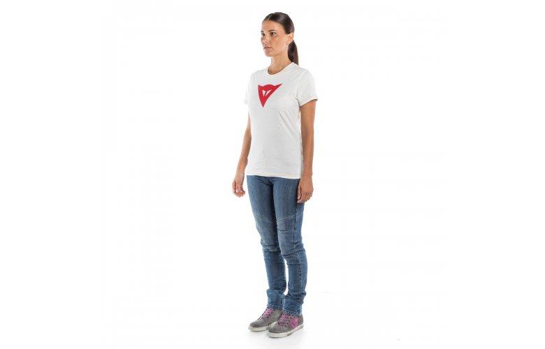 ΜΠΛΟΥΖΑ DAINESE SPEED DEMON LADY T-SHIRT White / Red ΛΕΥΚΗ ΚΟΚΚΙΝΗ