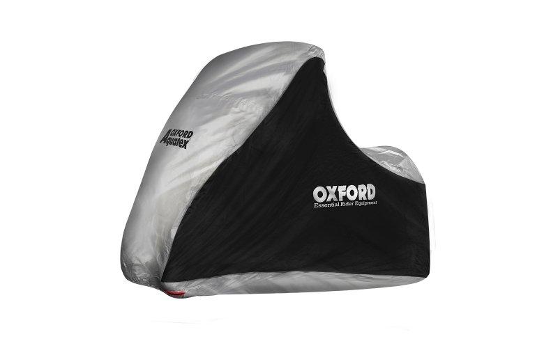 Κάλυμμα μοτοσυκλέτας Oxford Aquatex MP3/3 Wheeler - Black / Silver