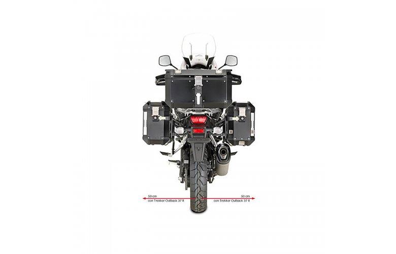 Βάσεις πλαϊνών βαλιτσών OBK PL3105CAM_DL1000 V-Strom'14 Suzuki Givi