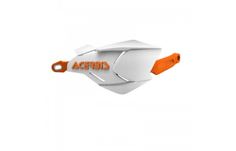 Προστασία χεριών Acerbis X-Factory άσπρο-πορτοκαλί